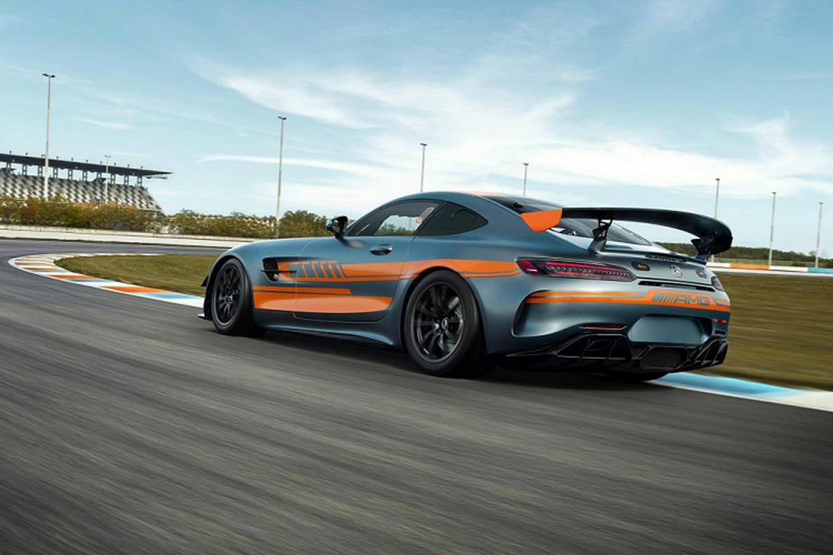 Mercedes-AMG GT4 2020 - dien mao moi, hieu nang vuot troi-Hinh-6