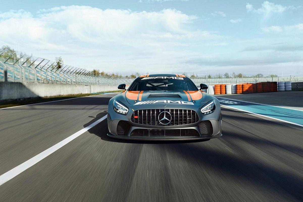 Mercedes-AMG GT4 2020 - dien mao moi, hieu nang vuot troi-Hinh-7