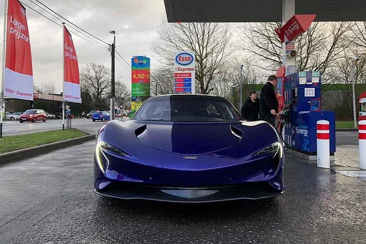 McLaren Speedtail 2,24 trieu USD dau tien den tay khach hang