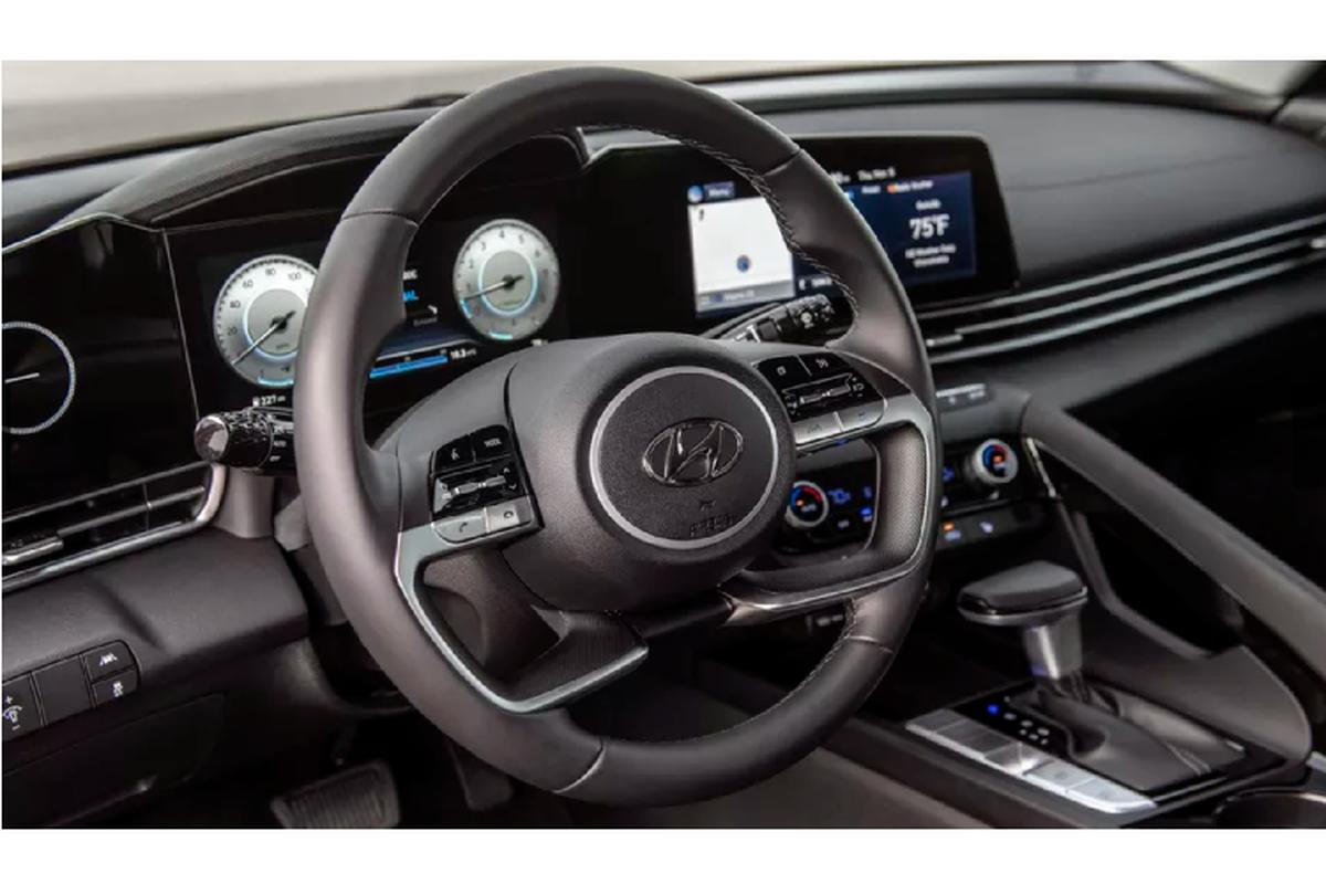 Hyundai Elantra 2021 trinh lang, to hon doi thu Honda Civic-Hinh-3