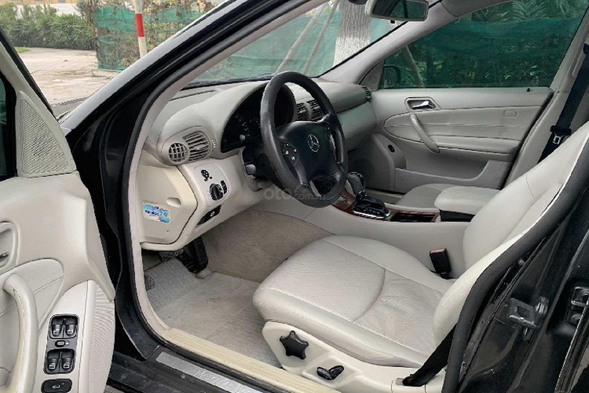 Xe sang Mercedes C 180 cu chi 175 trieu dong tai Ha Noi-Hinh-6