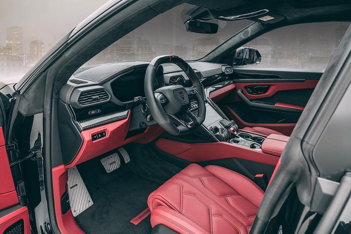 Sieu SUV Lamborghini Urus do Mansory Venatus toi 800 ma luc-Hinh-6