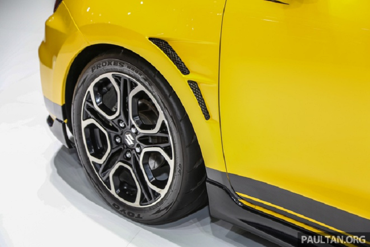 Ra mat Suzuki Swift Sport hybrid 2020 tu 449 trieu dong-Hinh-10