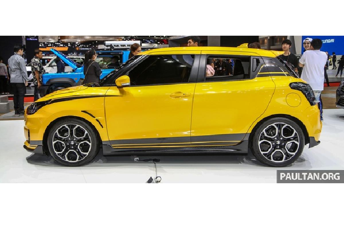 Ra mat Suzuki Swift Sport hybrid 2020 tu 449 trieu dong-Hinh-3