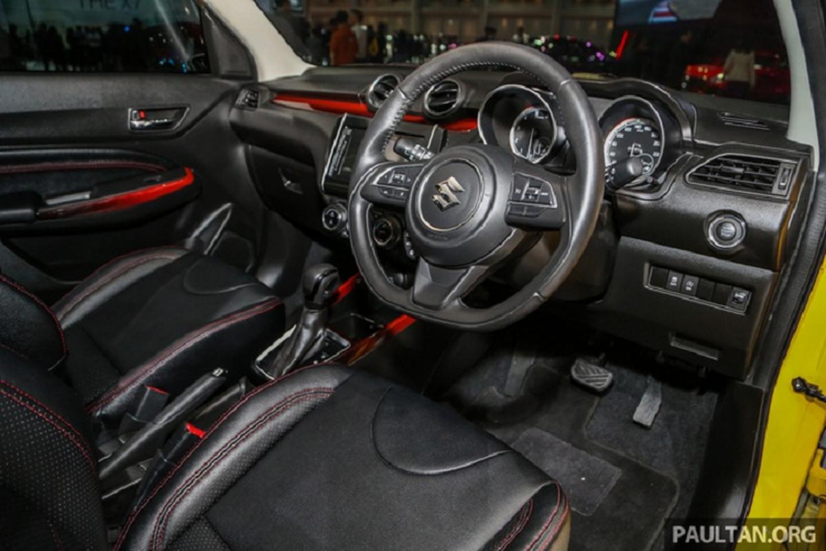 Ra mat Suzuki Swift Sport hybrid 2020 tu 449 trieu dong-Hinh-9