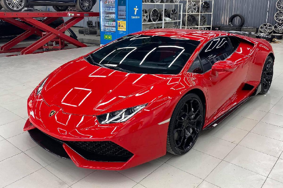 Dan choi Viet chi hon 100 trieu son sieu xe Lamborghini Huracan