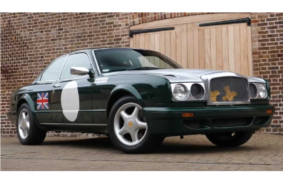 Ngam xe sieu sang Bentley Continental R Project 116