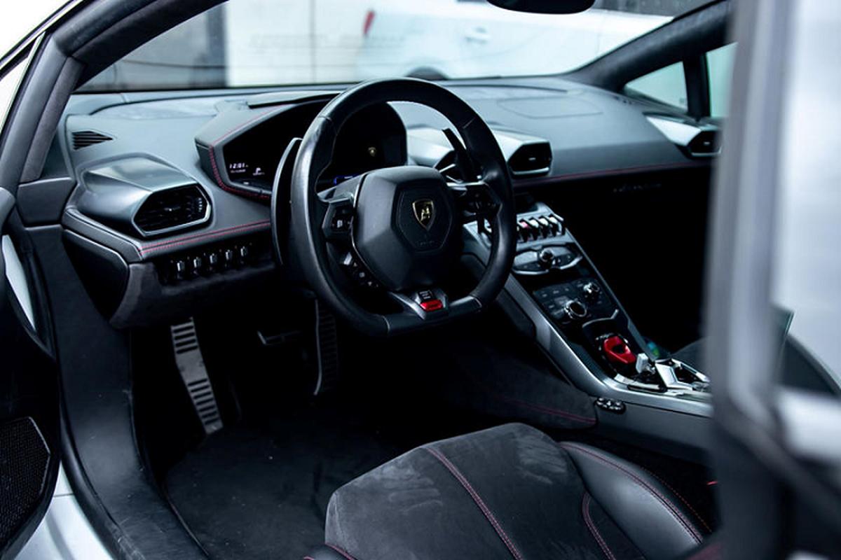 Sap co sieu xe Lamborghini Huracan dau tien dung hop so san-Hinh-4