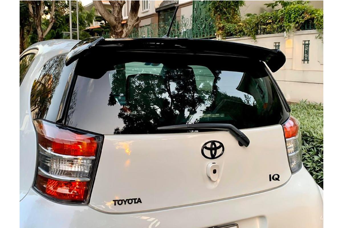 Xe di cho Toyota iQ dung 10 nam ban gan 700 trieu o Sai Gon-Hinh-4