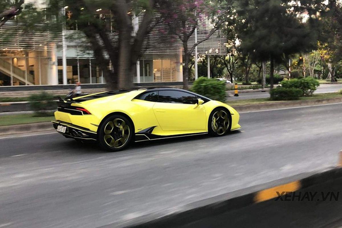 Sieu xe Lamborghini Huracan Vorsteiner bien
