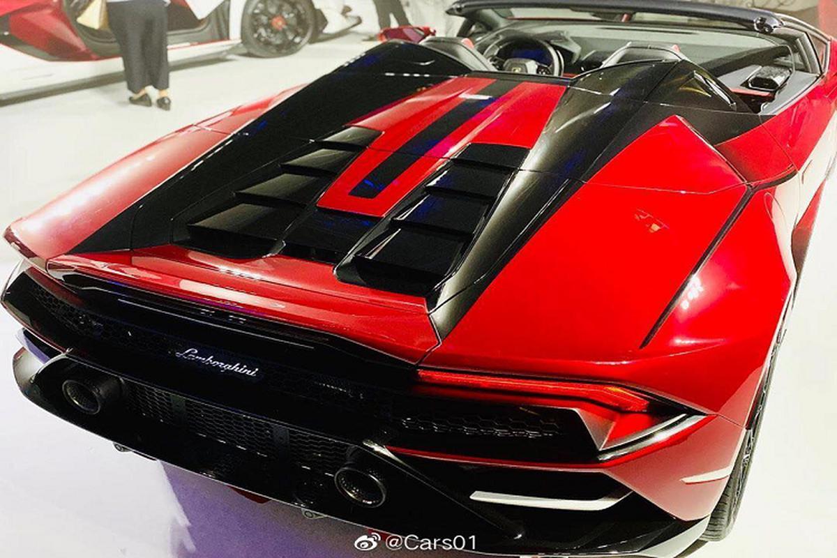 "Sieu xe Lamborghini Huracan EVO Spyder ""Kabuki""-Hinh-5"
