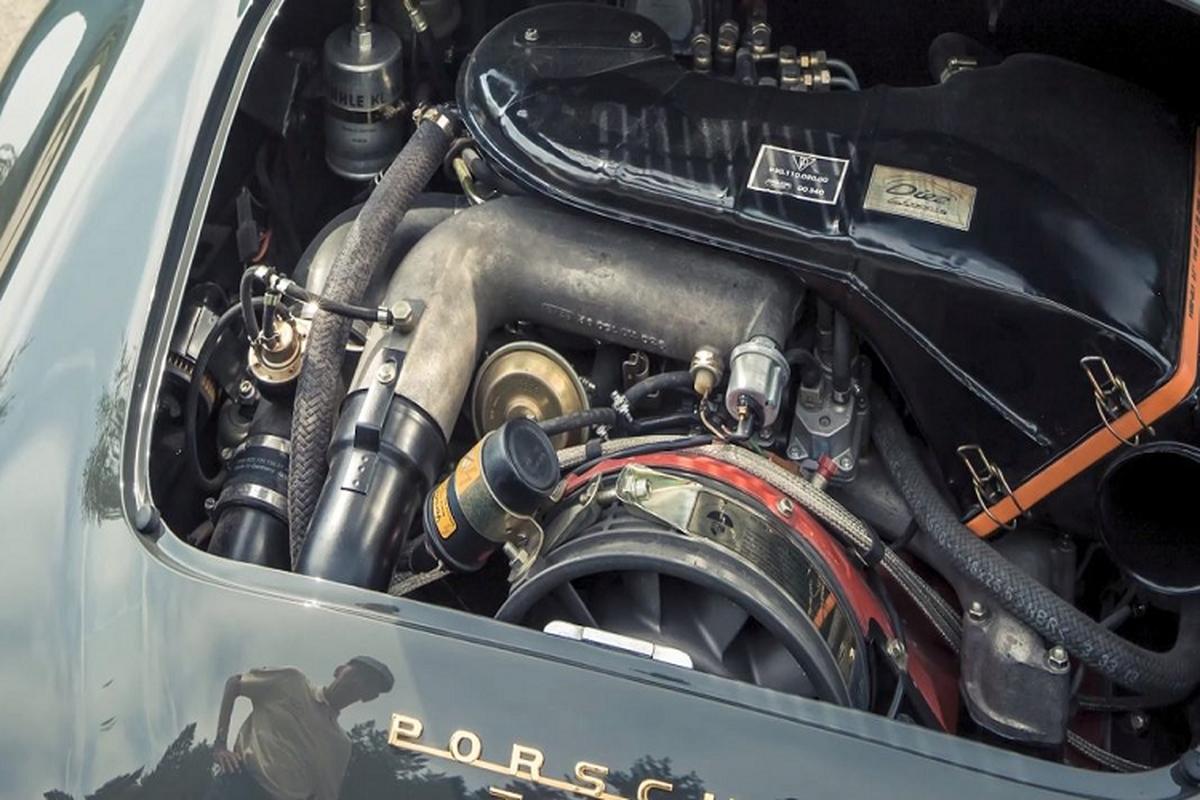 Porsche 356 doc nhat voi dong co tang ap cua 930 Turbo-Hinh-4