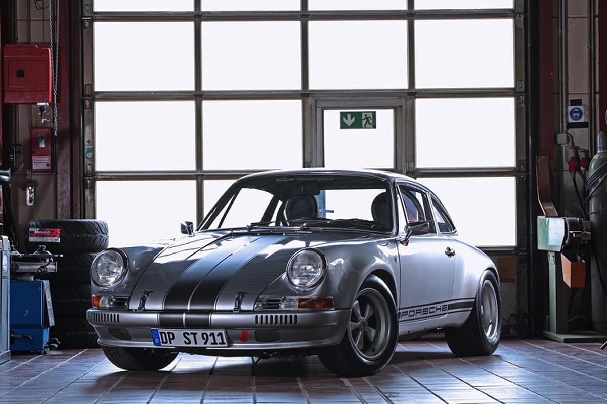 Porsche 356 doc nhat voi dong co tang ap cua 930 Turbo