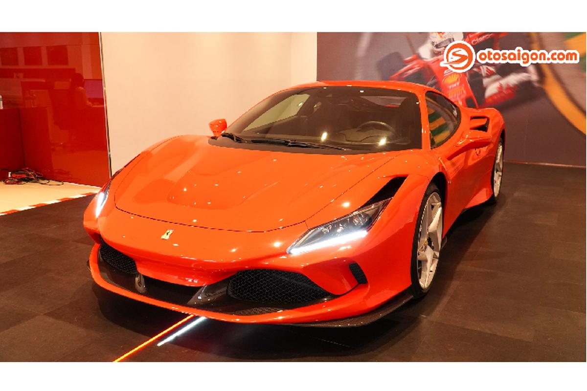Can canh Ferrari F8 Tributo hon 30 ty dong tai Viet Nam-Hinh-9