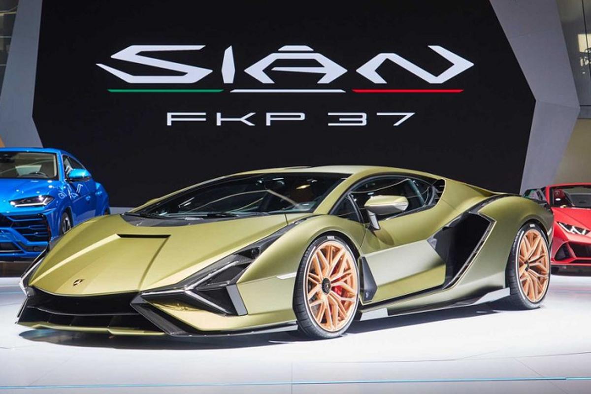 Rao ban suat mua Lamborghini Sian FKP 37 toi 3,4 trieu USD