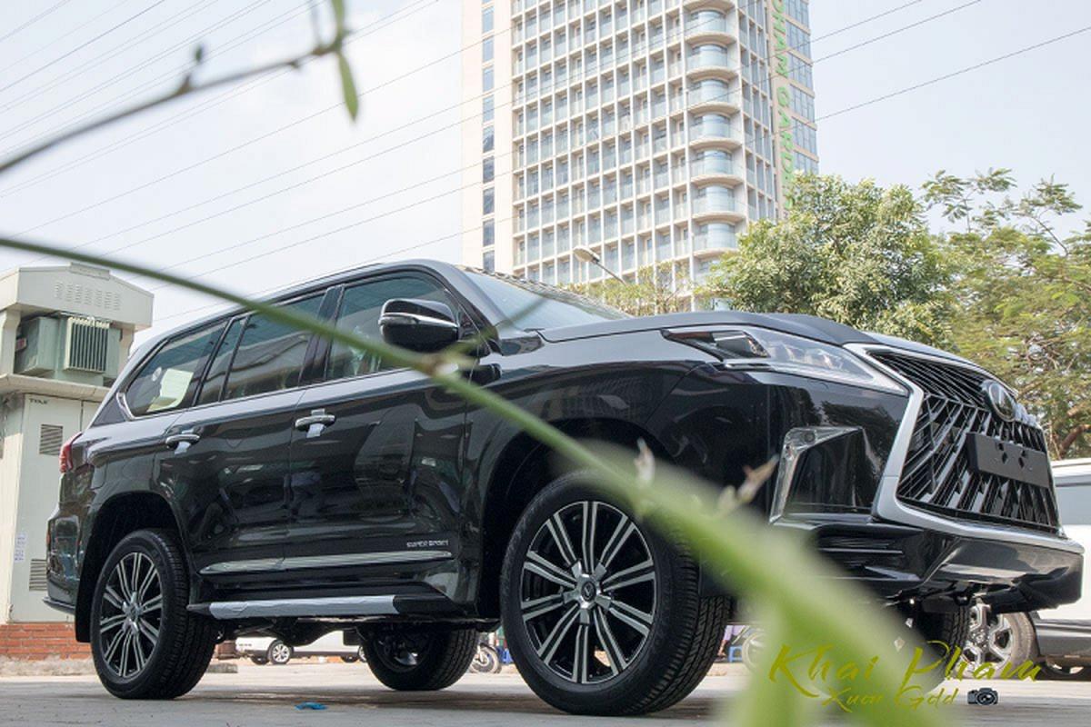 Chi tiet Lexus LX570 Super Sport 2020 gan 10 ty tai Viet Nam