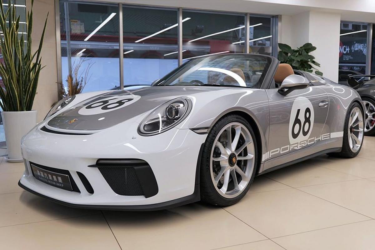 Sieu xe Porsche 911 Speedster cap ben Hong Kong, tu 15,6 ty dong-Hinh-2