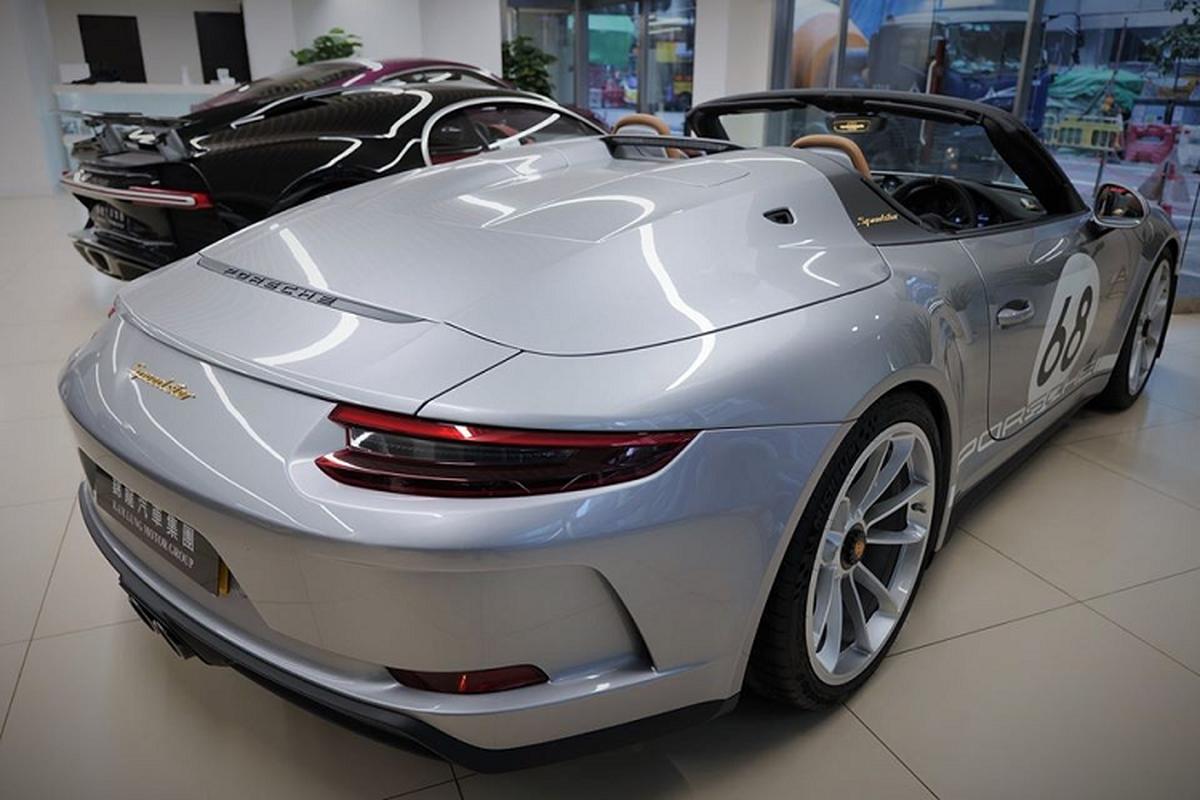 Sieu xe Porsche 911 Speedster cap ben Hong Kong, tu 15,6 ty dong-Hinh-3