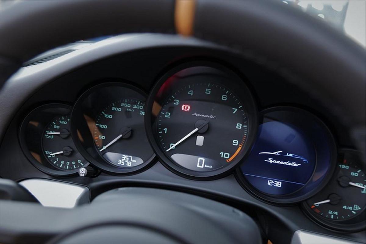 Sieu xe Porsche 911 Speedster cap ben Hong Kong, tu 15,6 ty dong-Hinh-7
