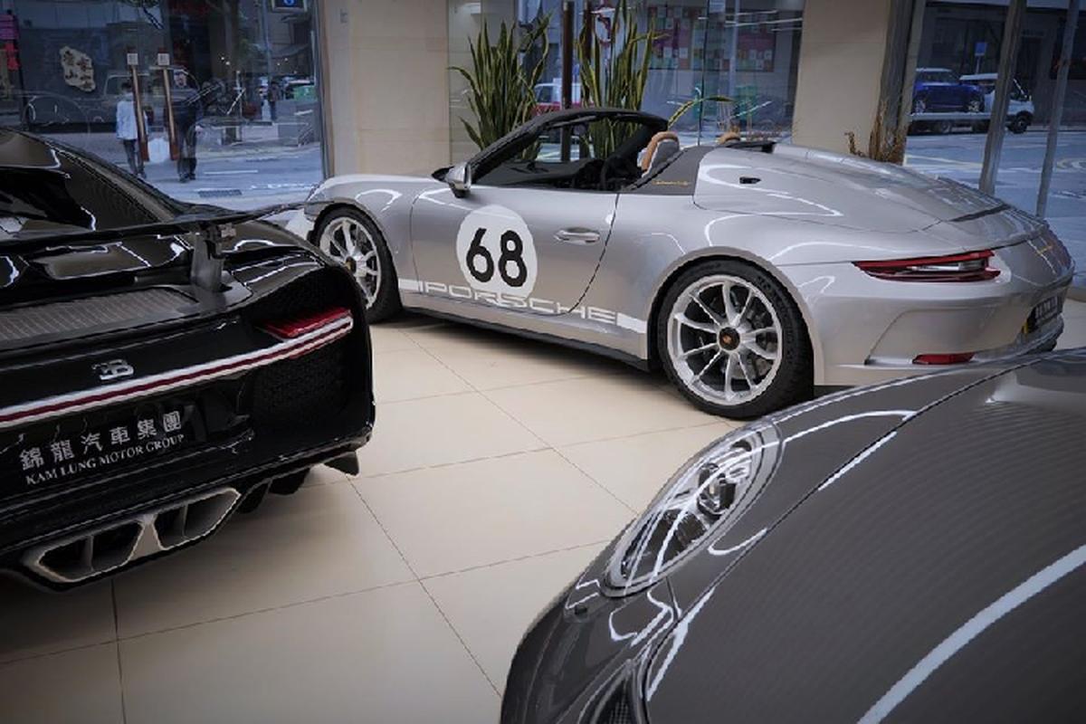 Sieu xe Porsche 911 Speedster cap ben Hong Kong, tu 15,6 ty dong