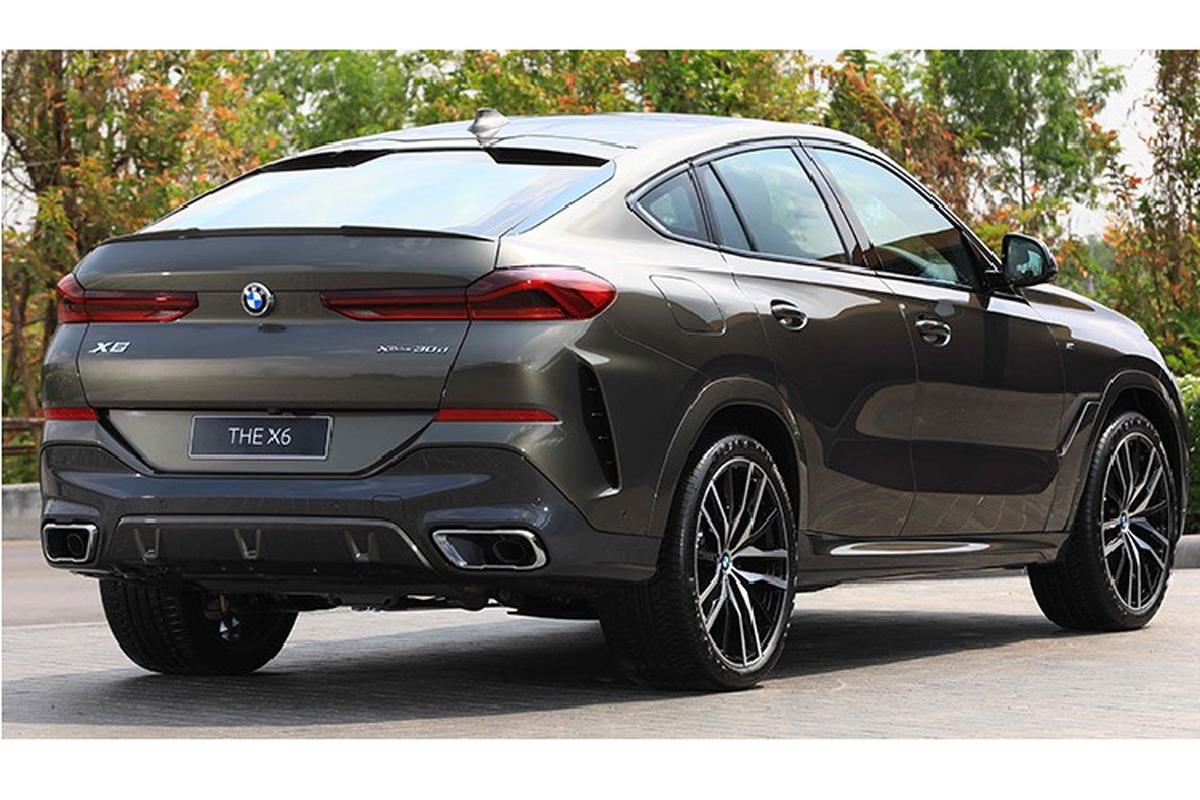 SUV hang sang BMW X6 2020 tu 5,2 ty dong tai Thai Lan-Hinh-2