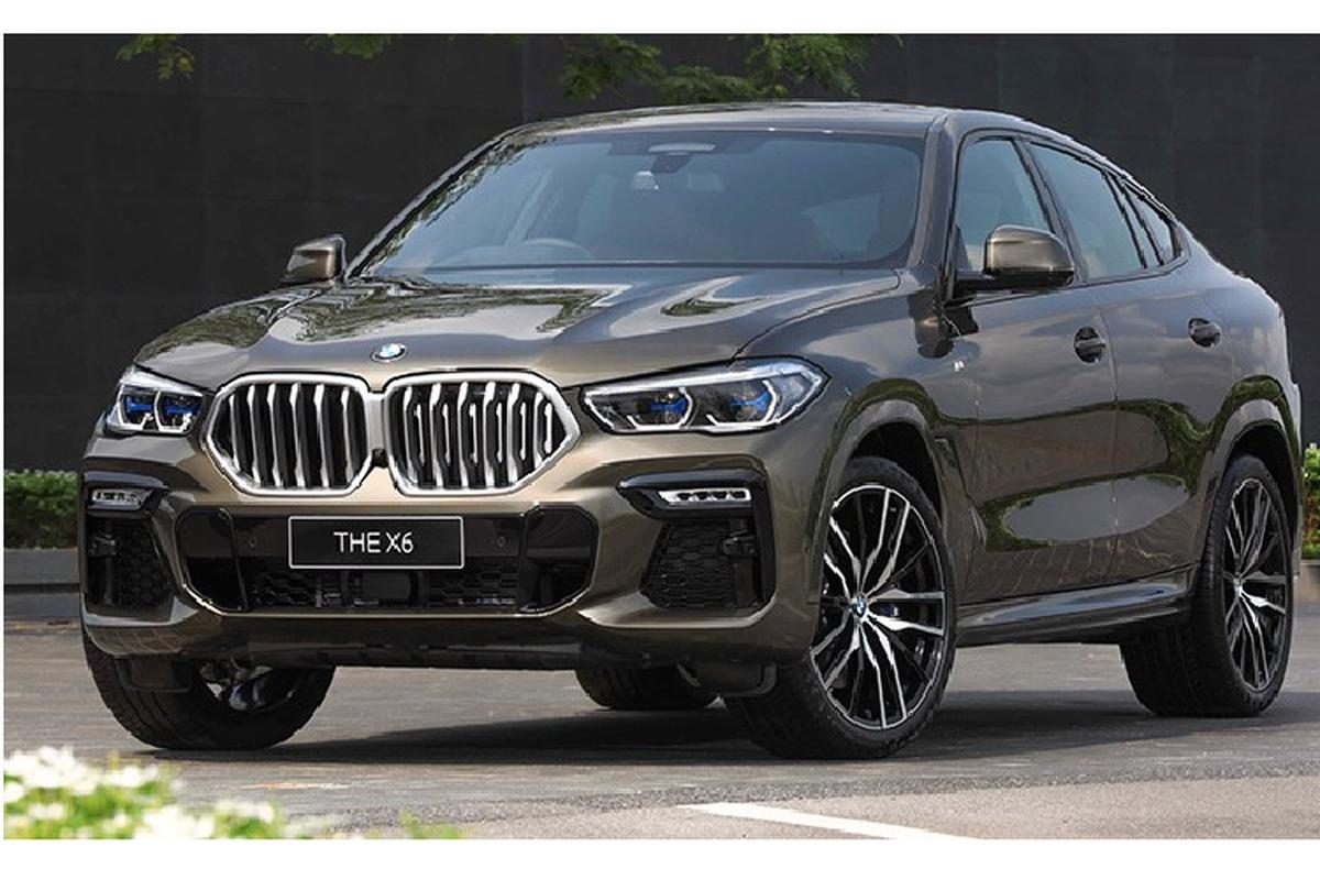 SUV hang sang BMW X6 2020 tu 5,2 ty dong tai Thai Lan
