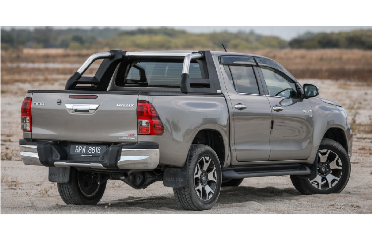 Toyota Hilux 2020 moi - thay doi dien mao, tinh chinh dong co-Hinh-8