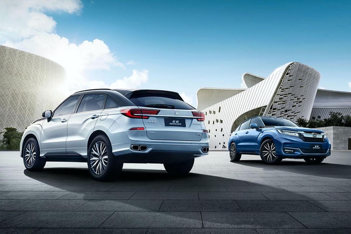 "Honda Avancier – SUV dan anh cua CR-V chinh thuc ""trinh lang"""