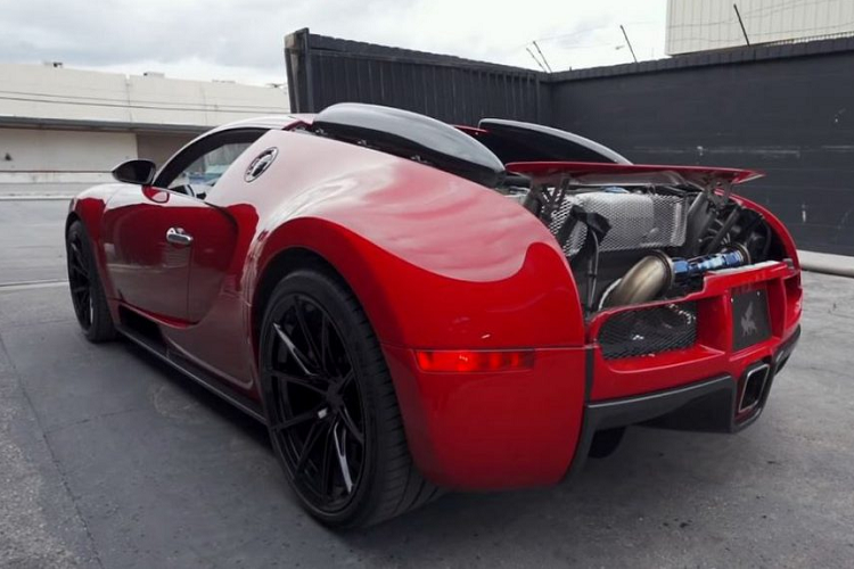 Sieu xe Bugatti Veyron on ao nhat the gioi nho ong xa RYFT