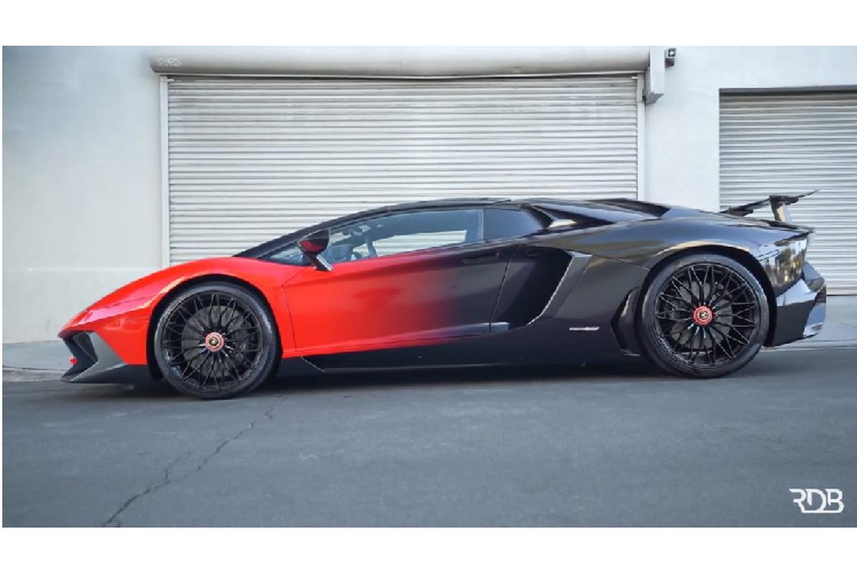 Chris Brown lai thay ao cho Lamborghini Aventador SV Roadster-Hinh-4
