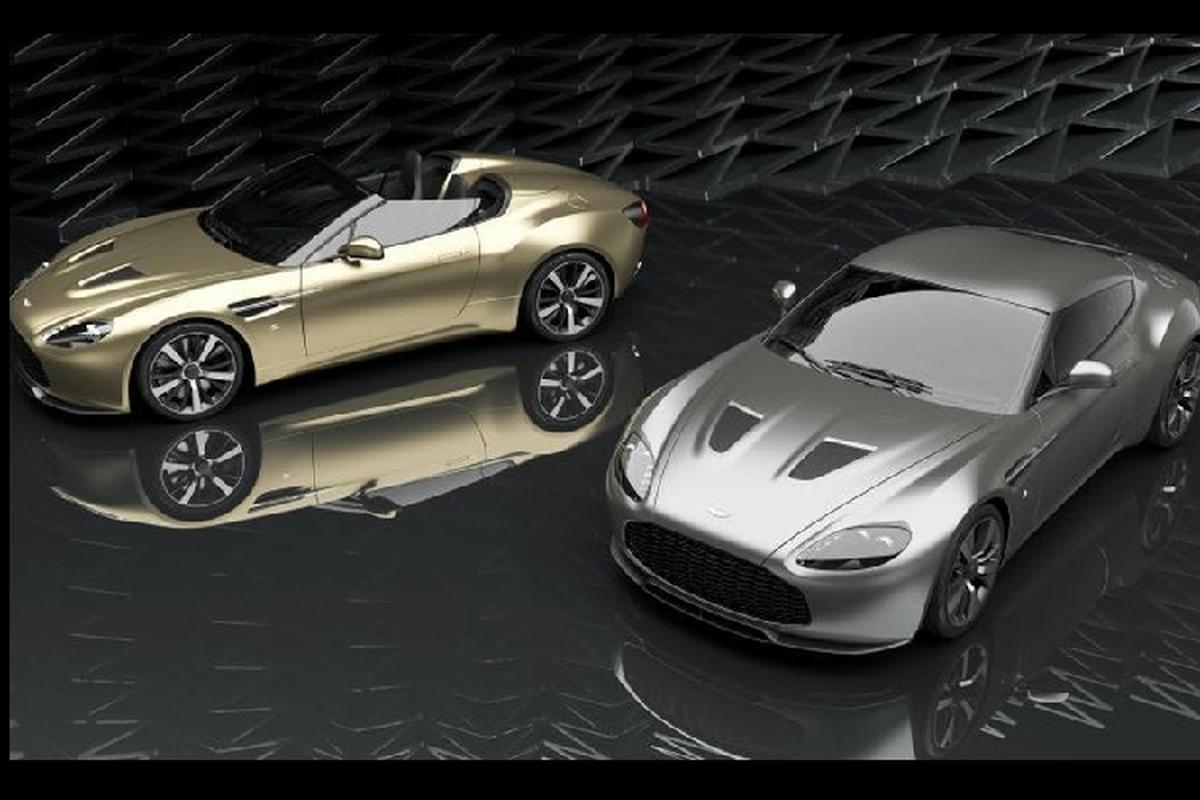 Bo doi Aston Martin Vantage V12 ky niem 100 nam co gi dac biet?