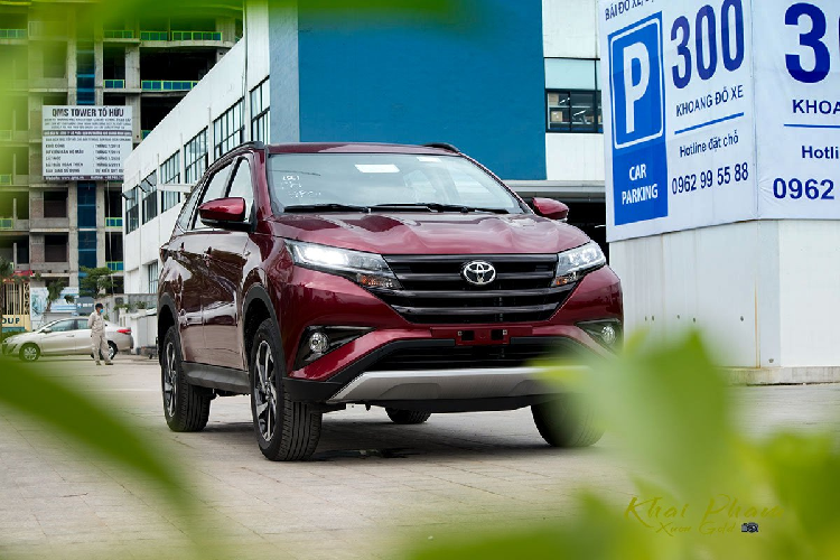 Chi tiet Toyota Rush 2020 hon 660 trieu dong tai Viet Nam
