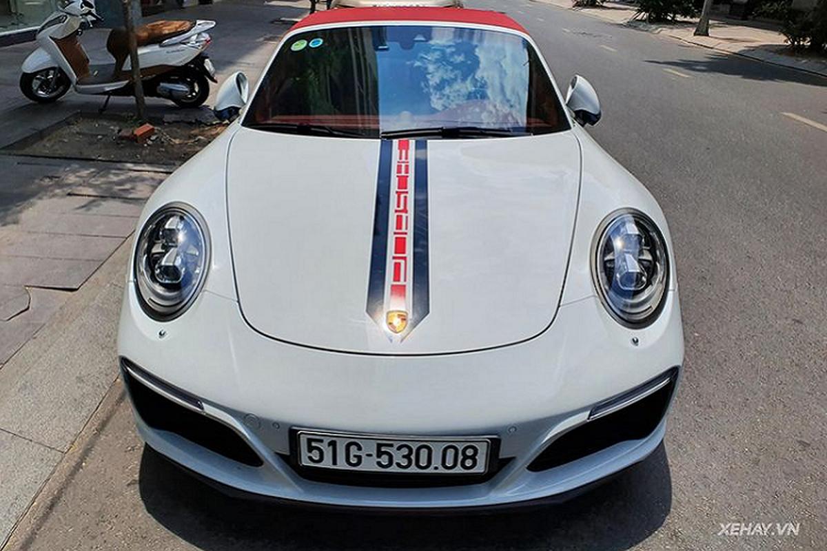 Porsche 911 Targa 4S hang hiem hon 11 ty lan banh o Sai Gon-Hinh-7