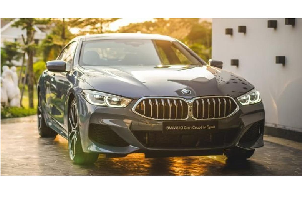 BMW 8-Series Gran Coupe chao gia 5,2 ty dong tai Malaysia