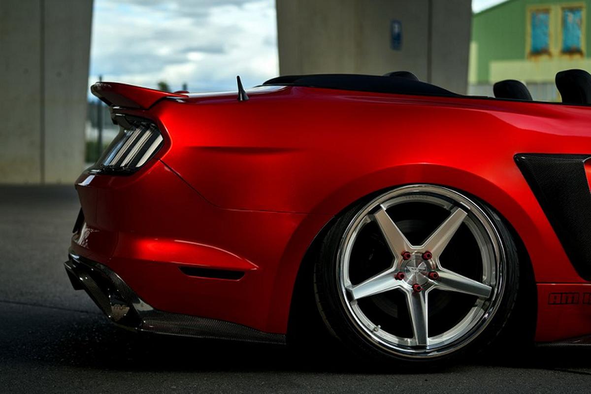 """Ngam xe co bap Ford Mustang mui tran do """"sieu ngau""""-Hinh-3"""