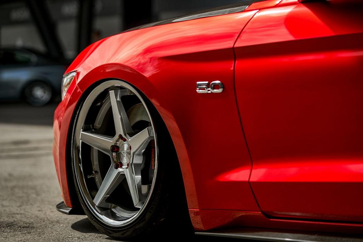 """Ngam xe co bap Ford Mustang mui tran do """"sieu ngau""""-Hinh-5"""