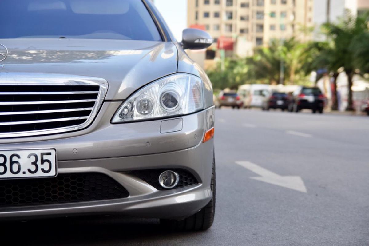 Xe sang Mercedes-Benz S550 dung 10 nam, gia ngang Mazda3-Hinh-2