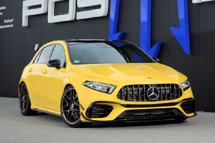 """Hot hatch Mercedes-AMG A45 S """"tuyet dinh"""" voi 518 ma luc"""