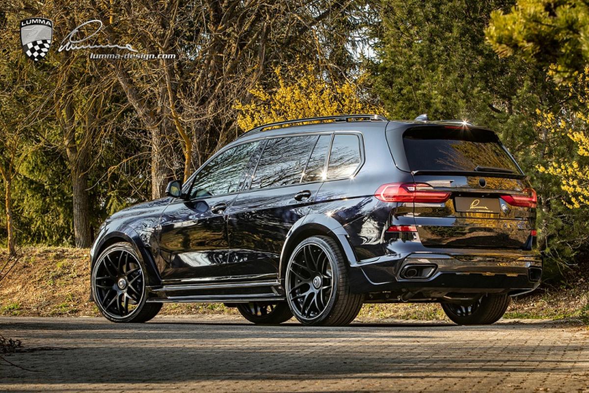 BMW X7 co bap hon voi ban do than rong tu Lumma Design-Hinh-3