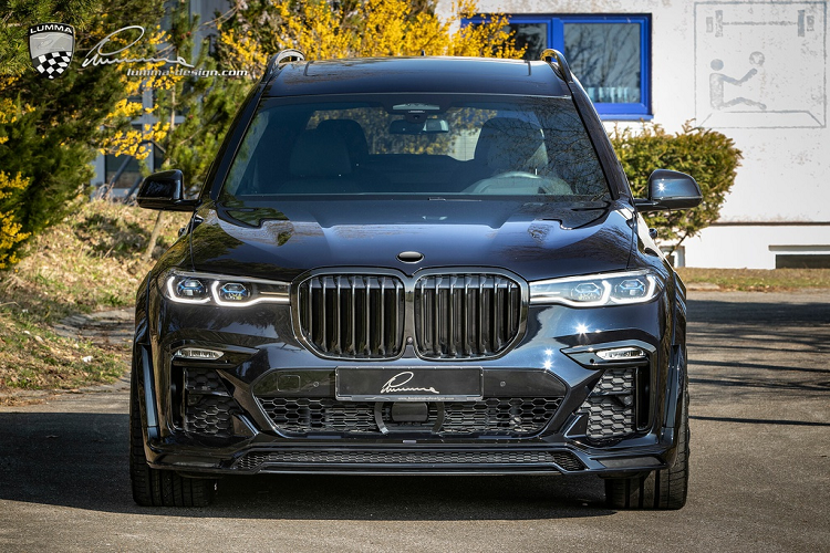 BMW X7 co bap hon voi ban do than rong tu Lumma Design-Hinh-4