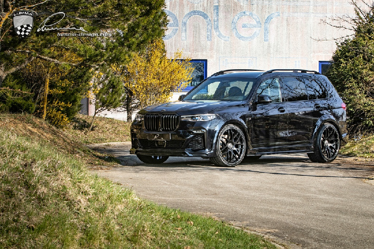 BMW X7 co bap hon voi ban do than rong tu Lumma Design-Hinh-7