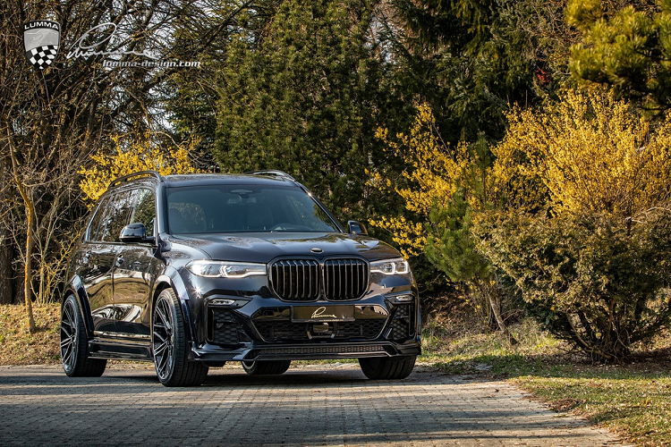BMW X7 co bap hon voi ban do than rong tu Lumma Design-Hinh-9