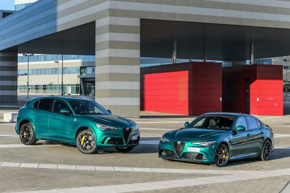 Ra mat Alfa Romeo Giulia va Stelvio Quadrifoglio 2020 moi