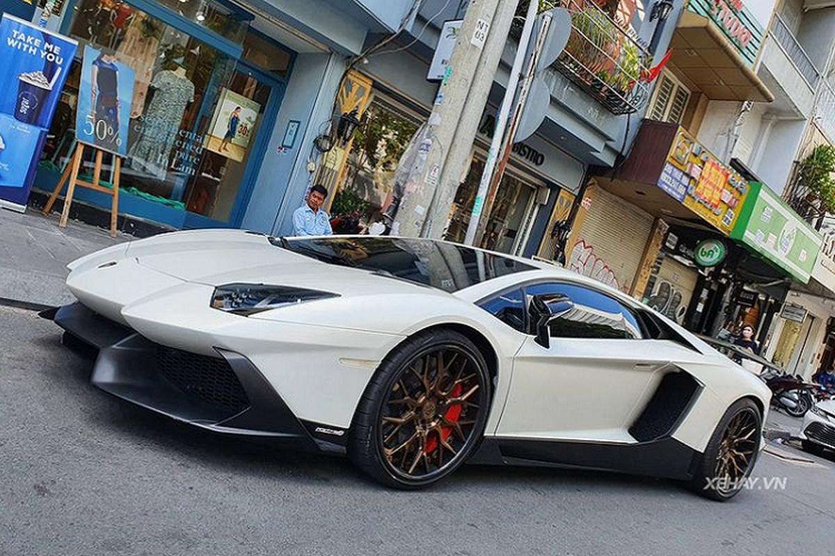 Lamborghini Aventador do 50th Anniversario doc nhat Viet Nam