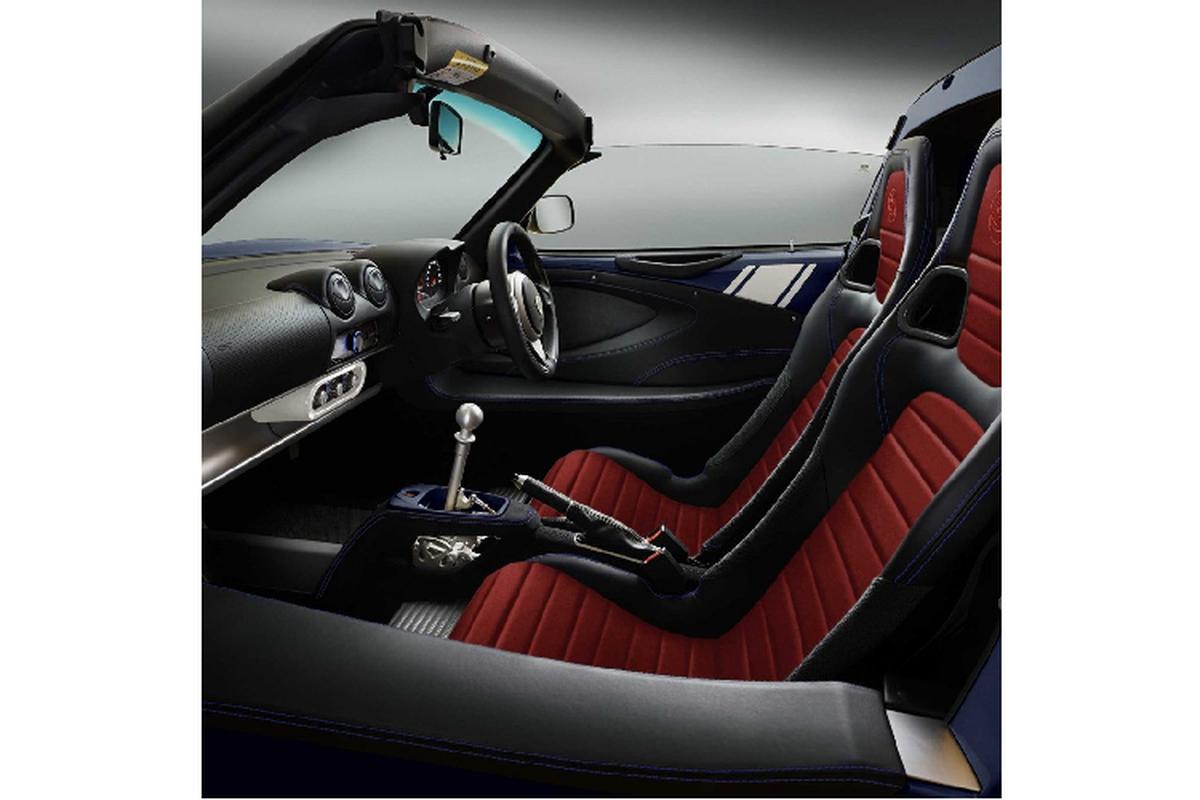 Lotus Elise Heritage Edition ra mat voi bon phoi mau dac biet-Hinh-5