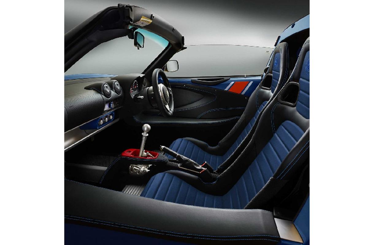 Lotus Elise Heritage Edition ra mat voi bon phoi mau dac biet-Hinh-6