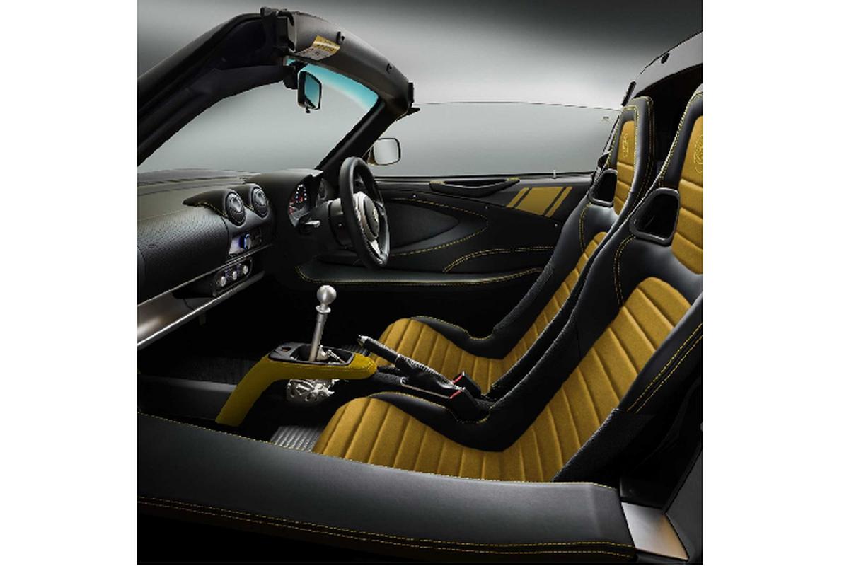 Lotus Elise Heritage Edition ra mat voi bon phoi mau dac biet-Hinh-7