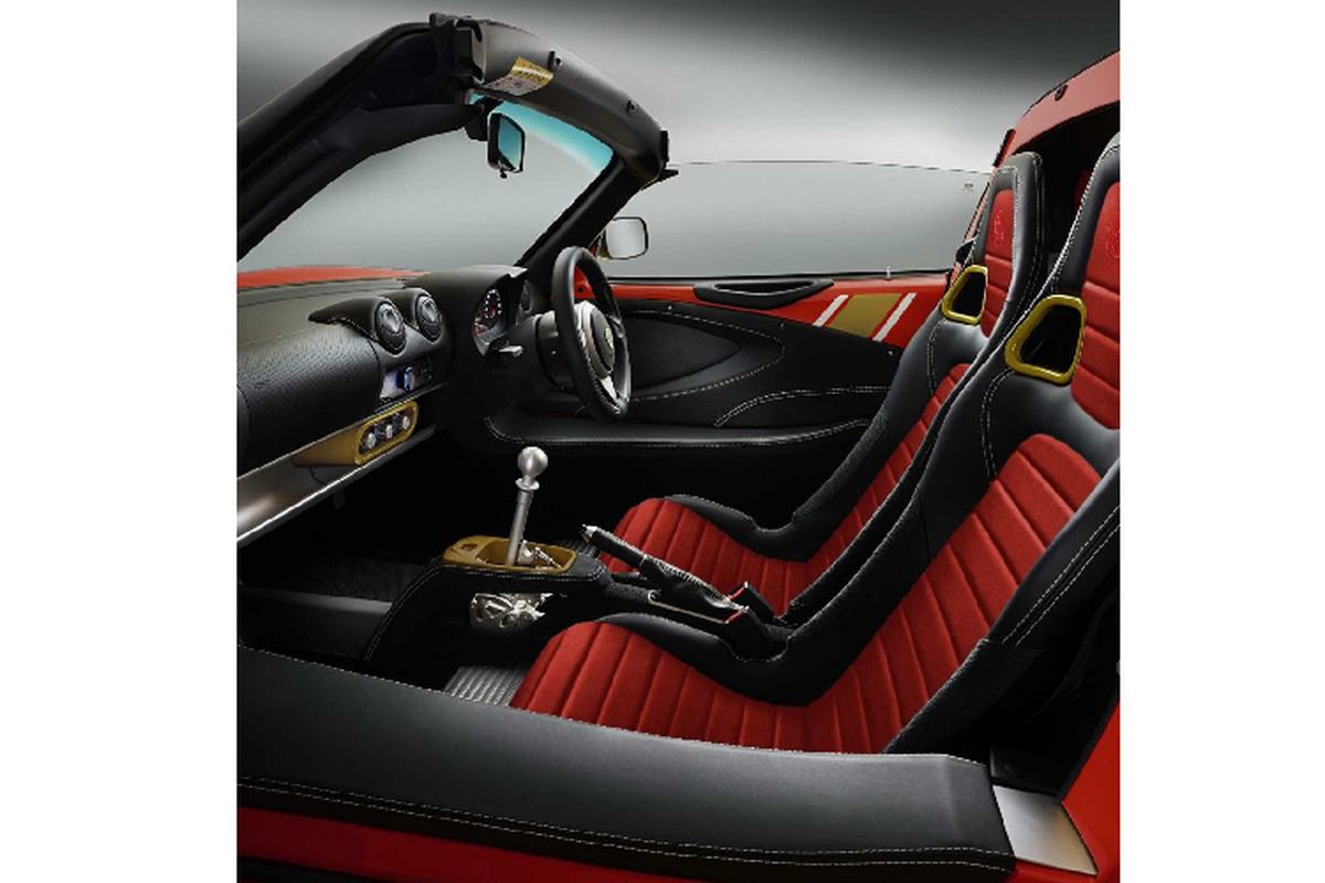 Lotus Elise Heritage Edition ra mat voi bon phoi mau dac biet-Hinh-8