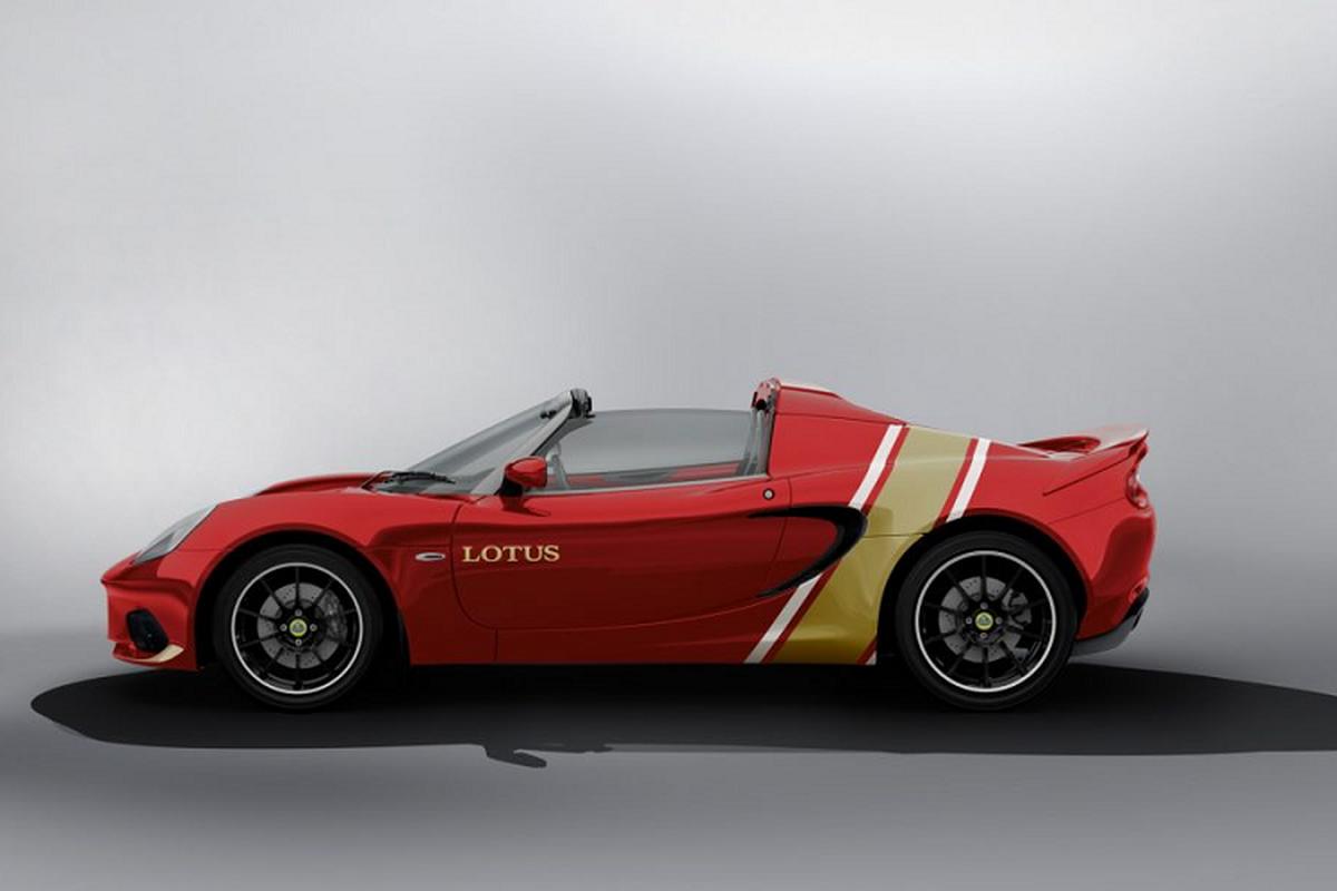 Lotus Elise Heritage Edition ra mat voi bon phoi mau dac biet-Hinh-9