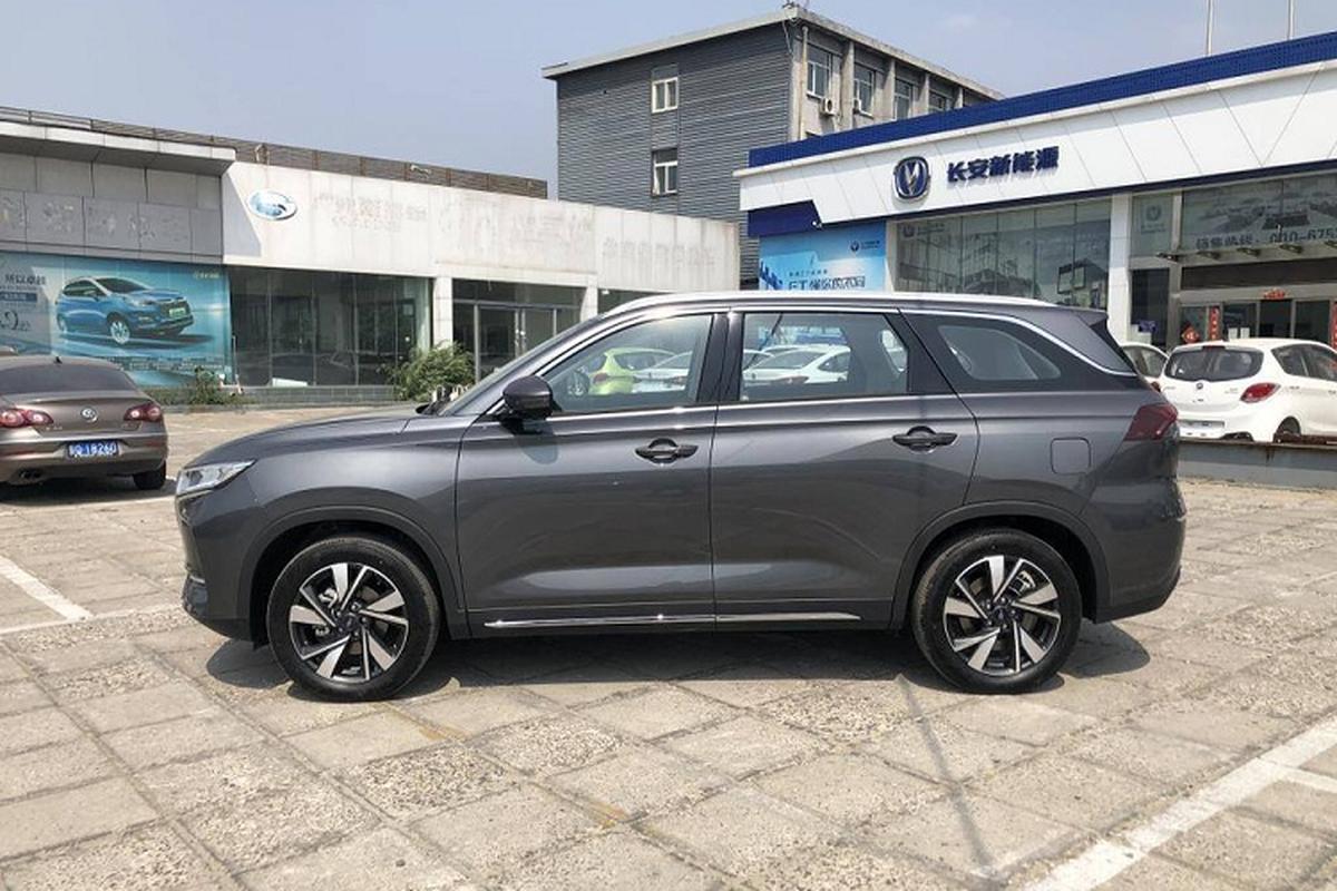 Oshan X7 EV - SUV dien Trung Quoc chi 562 trieu dong-Hinh-3